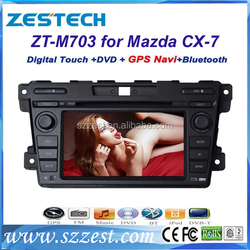 2 din autoradio with navigation for mazda cx-7 autoradio car dvd gps with bluetooth
