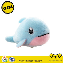 cartoon dolphine toys soft stuffed toys most popular plush toys made in China
