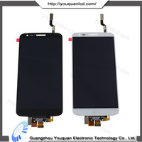 China new design popular lcd and touch screen for lg optimus g2 d800 d801