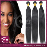 100% human hair brazilian peruvian indian russian 8A remy hair products