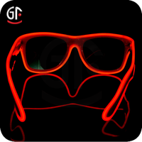 Arts And Crafts Hot New Products For 2015 Full Frame El Wire Colors Glasses