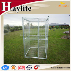 steel galvanized dog kennel large dog kennel