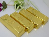 Hot Selling 4GB Gold Bar Metal USB Flash Disk
