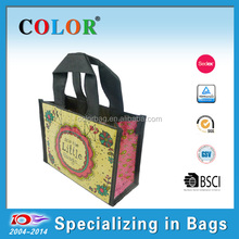 Hot sale RPET Gift Bag with Matt Lamination for promotion and birthday
