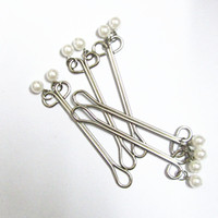 Metal nipple clamps with Pearl Charm sex toys for couples sex products for adult games free shipping