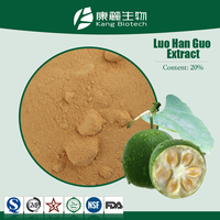 Sweetener for Children Monk Fruit Extract 20% Mogroside V