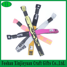 New products fashion custom made woven wristband/bracelet with your logo