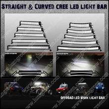 "288w Curved LED Work Light Bar 50"" LED Bar Light For 4x4 Accessories LED Work Lamp , 288W LED Car Light"