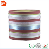 special attractive contemporary fabric round colored strips light shade