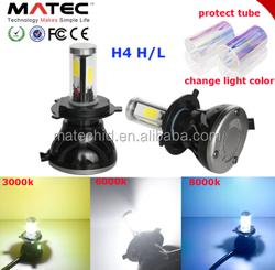Car fog light headlight kit h4 h13 9004 9007 high low beam G5 40w led headlight car