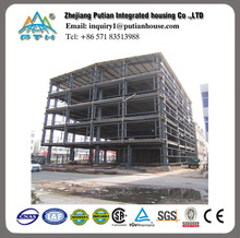 affordable modular modern design prefab steel frame apartment building