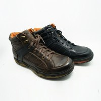 high ankle protect fashion boot the men casual safety shoes