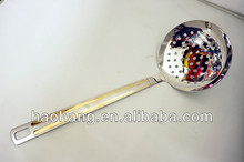 2014New stainless steel kitchenware skimmer
