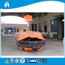 6 persons marine inflatable SOLAS standard life raft