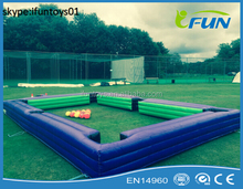 inflation snooker poolball football / snooker football table / inflatable snooker football field