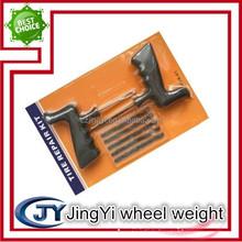 Handle plastic material tire repair tools