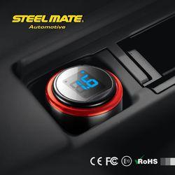 2015 Steelmate TP-72 P LED TPMS solar car, tire repair tool, motorbikes