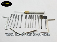 Topbest 14 auto lock picks for Dimple Lock pick set car lockpicking tools