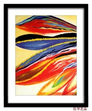 Pictures Of Natural Vegetation Abstract Paintings For Relief Wall Art