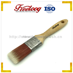 Gold supplier china paint brush with bristle