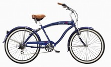 suspension frame cruiser bicycle powerful men beach cruiser bike