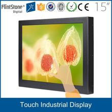 FlintStone 15 inch touch screen optional with rack mount lcd monitor tv