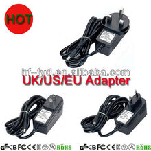 UK US EU AU plug adapter ac dc power adapter 5v 6v 9v 11v 12v 15v 24v 500ma 0.5a 1.5a 1.25a 2a 2.5a 3a ac dc adapter