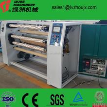 fabricant de la chine pour la grande vitesse meilleur prix ruban adhésif machines de découpe