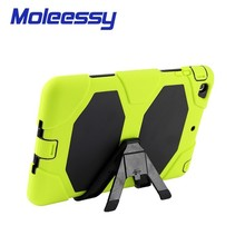 triple protective heavy duty silicone shockproof 8 inch case for tablet for apple ipad