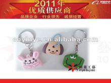 Custom Super Cute 3D PVC Key Top Cover For Hotsale