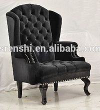 Middle East style bedroom furniture/fabric chair arm covers/ single seat sofa CY-019#