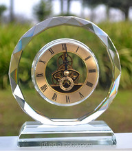 2015 Fashion Crystal Clock,Crystal Table Clock For Gifts&Souvenirs
