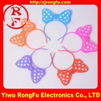 wholesale gift items Party supplies led light up bow headband