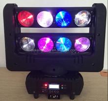 8*4in1 10w led beam head moving light disco design night club