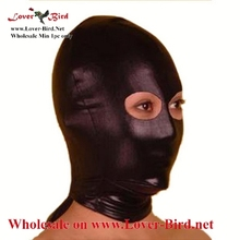 sexy leather mask face mask leather mask black