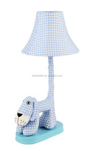 lovely cute bedroom cloth kids table lamps