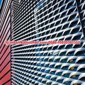 aluminio metal desplegado fachadas