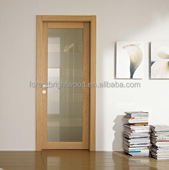 Puertas interiores de madera con vidrio - Modelos de puertas interiores ...