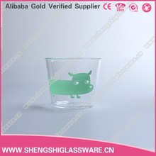 300ml New design high temperature resistance drinking water glass