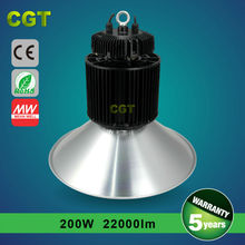 TUV/SAA/ROHS/CE 250W LED HIGH BAY LIGHTING PRICE,MEANWELL DRIVER,1-10V DIMMING,110LM/W,5 YEARS WARRANTY
