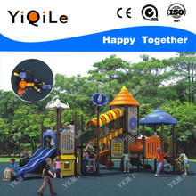 High level plastic playsets for child