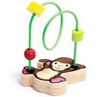 bolas del modelo Mono de madera de juguete laberinto de juguete para niños juguetes educativos