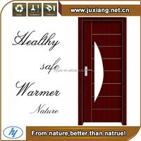 Low Carbon environmental protection front door design wpc wooden retractable interior doors