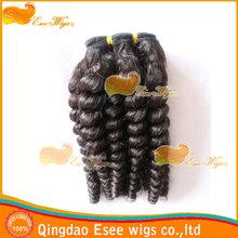 eseewigs qingdao factory wholesale 100% human hair wrap around ponytail virgin