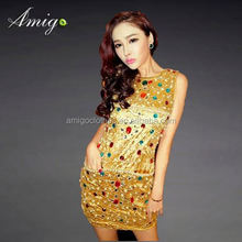 adult women wear autumn dress jersey texture ladies fashion dress wholesale ready to ship