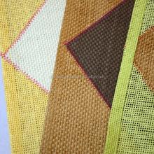 Handmade high quality woven straw table hardware paper modern mat