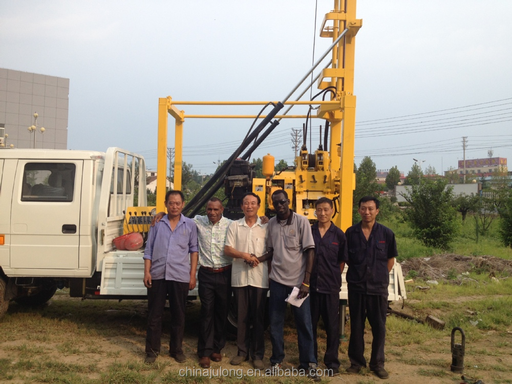 Excellent Qualit Truck Mounted Water Well Drilling Rig Xyc