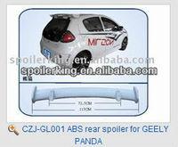 ABS rear spoiler for GEELY PANDA