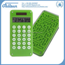 10 digits root square calculator with fancy maze game FS-2035