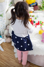 top quality most popular multicolor casual spring cartoon long sleeve 100% cotton latest dress designs for kids